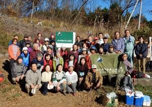 記念撮影。埼玉県連傘下のクラブ40名の参加です。