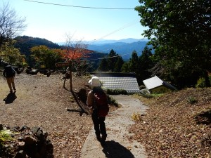 高山不動尊に着きました。