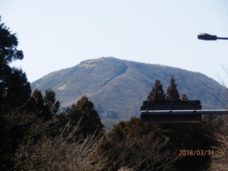 駒ケ岳が大きい